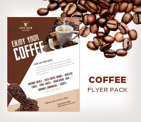 Cafecito Coffee Shop Menu + Loyalty Card